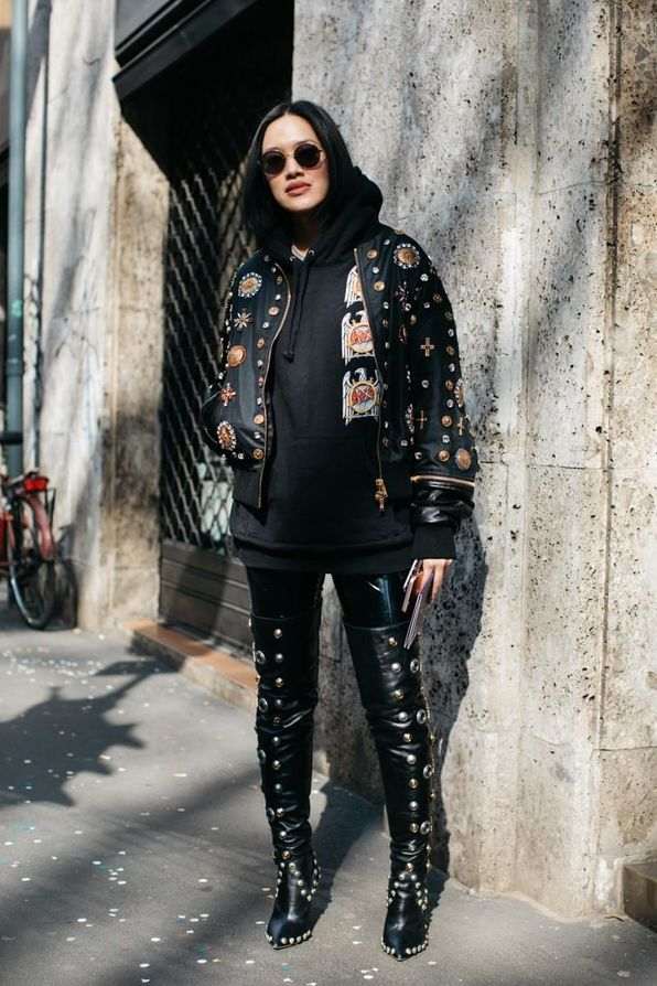 FWAH2017 Street Style Milan Fashion Week Fall Winter 2017 2018 Looks Trends Sandra Semburg Ideas
