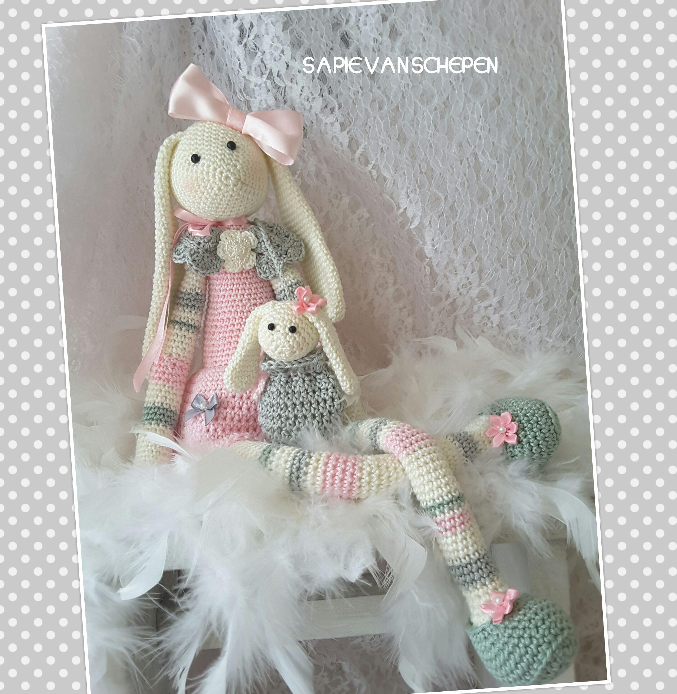 Pin von Simone ♥ auf # Bunny #   Pinterest   Tier und Häkeln
