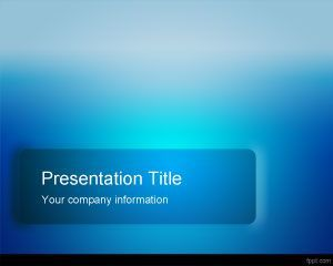 blue pro powerpoint template | powerpoint graphics | pinterest, Modern powerpoint