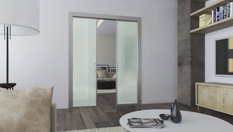 Acqua - Pannelli Scorrevoli in Vetro e Alluminio per Porte a ...