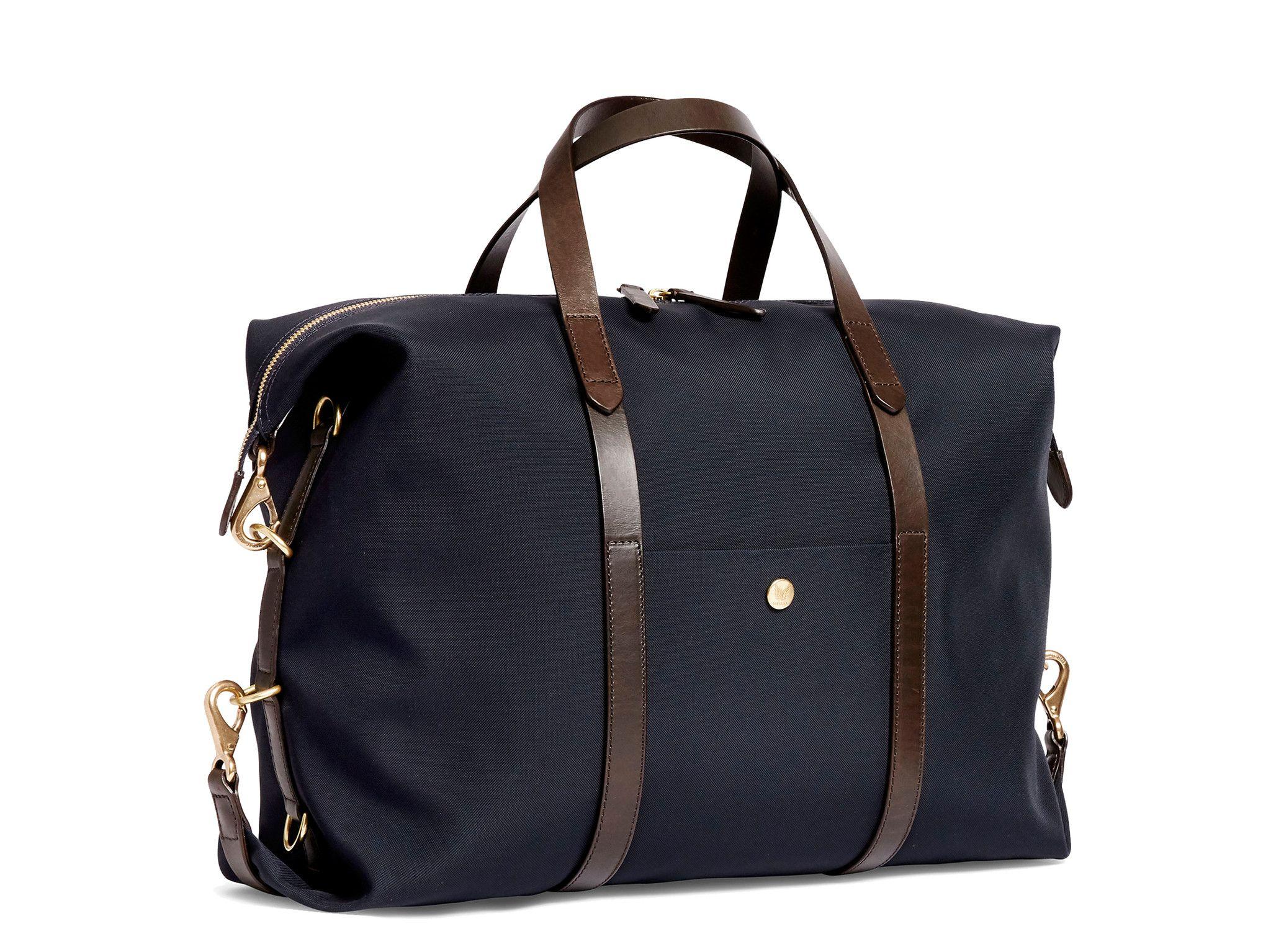 MISMO M/S Utility – Navy/Dark Brown - Tote bag - Mismo - 1 ...