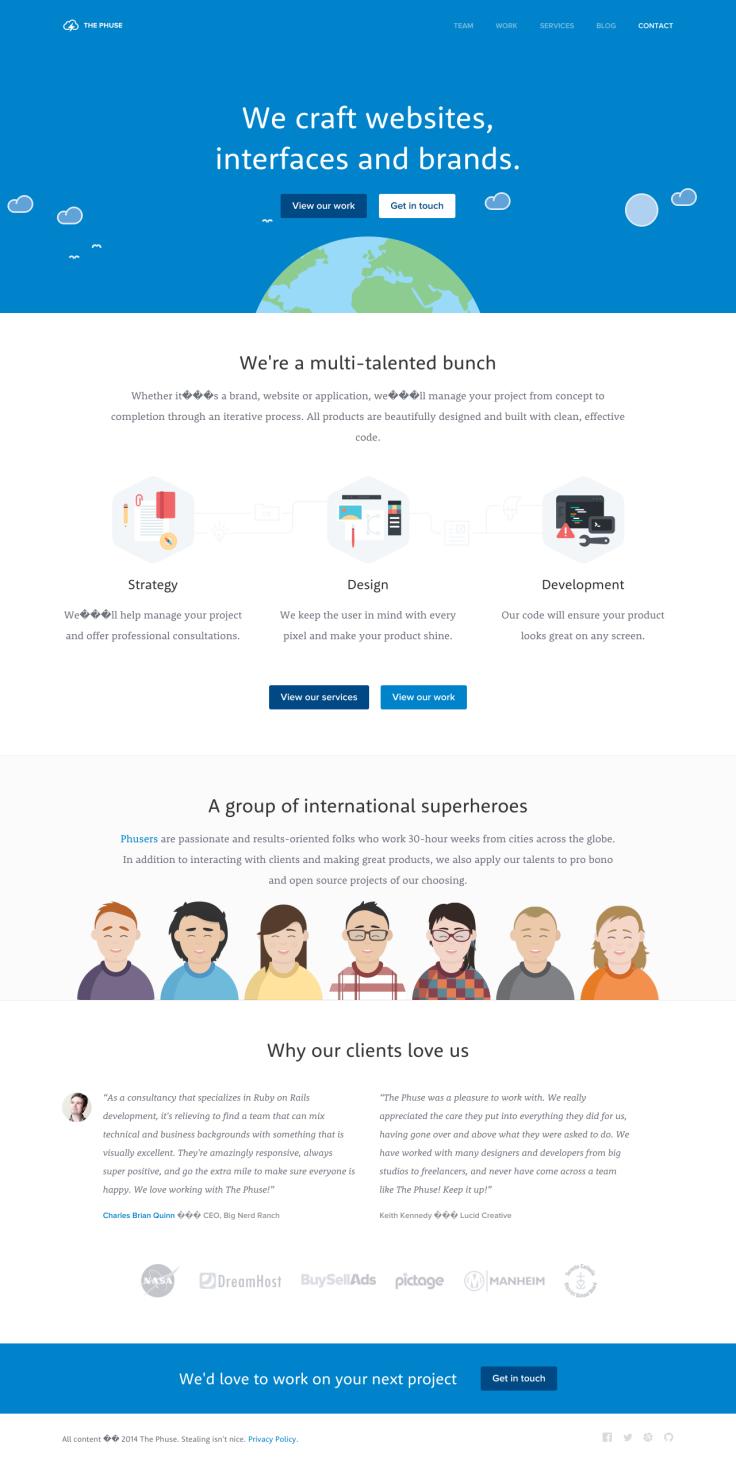 Toronto Design And Development Agency The Phuse Web Development Design Web Design Design