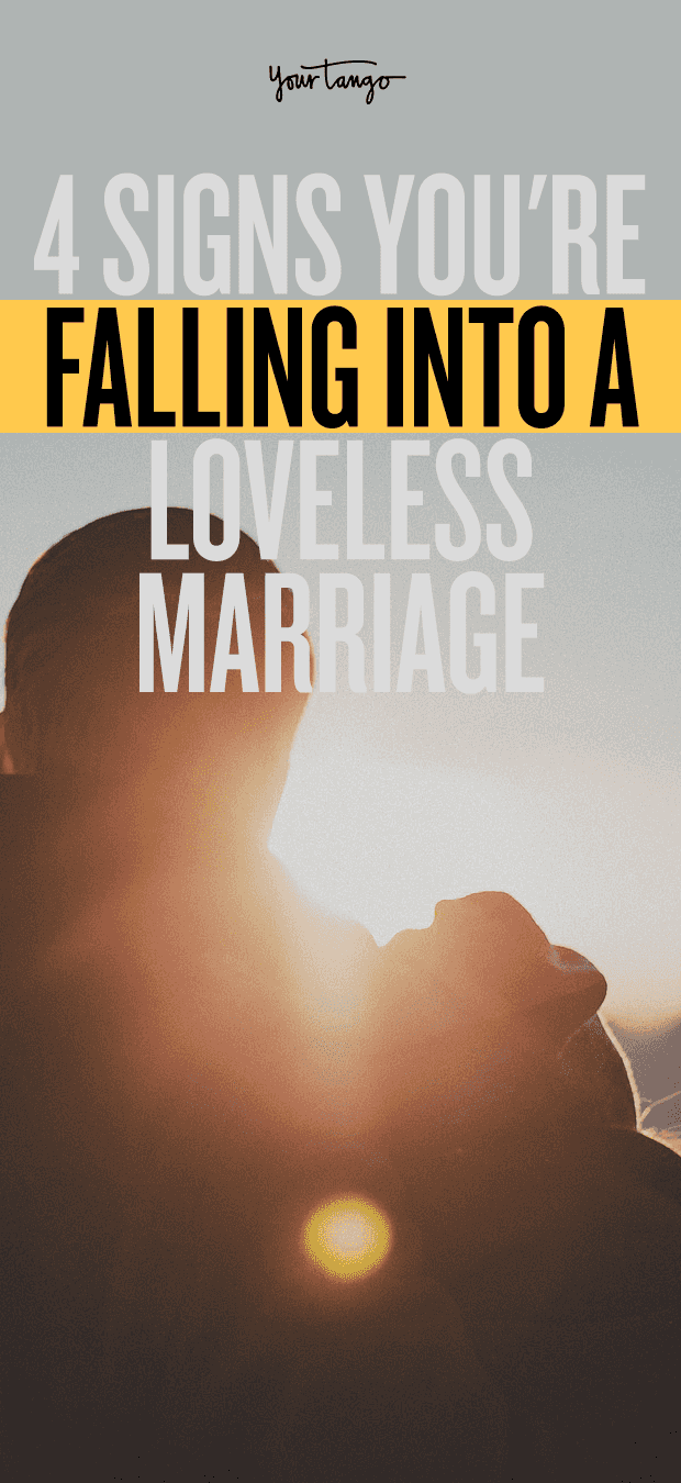 Signs of a loveless marriage