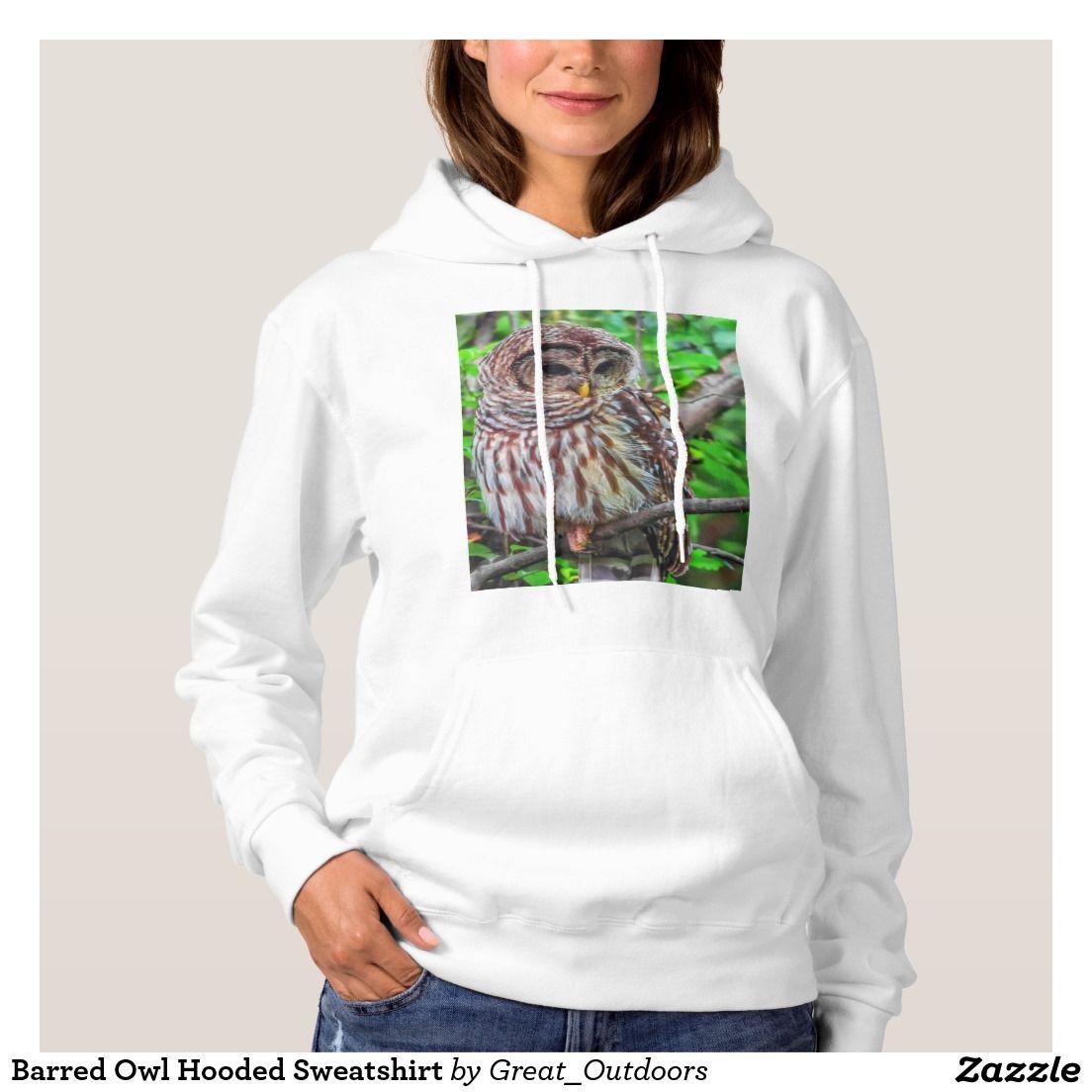 Barred Owl Hooded Sweatshirt