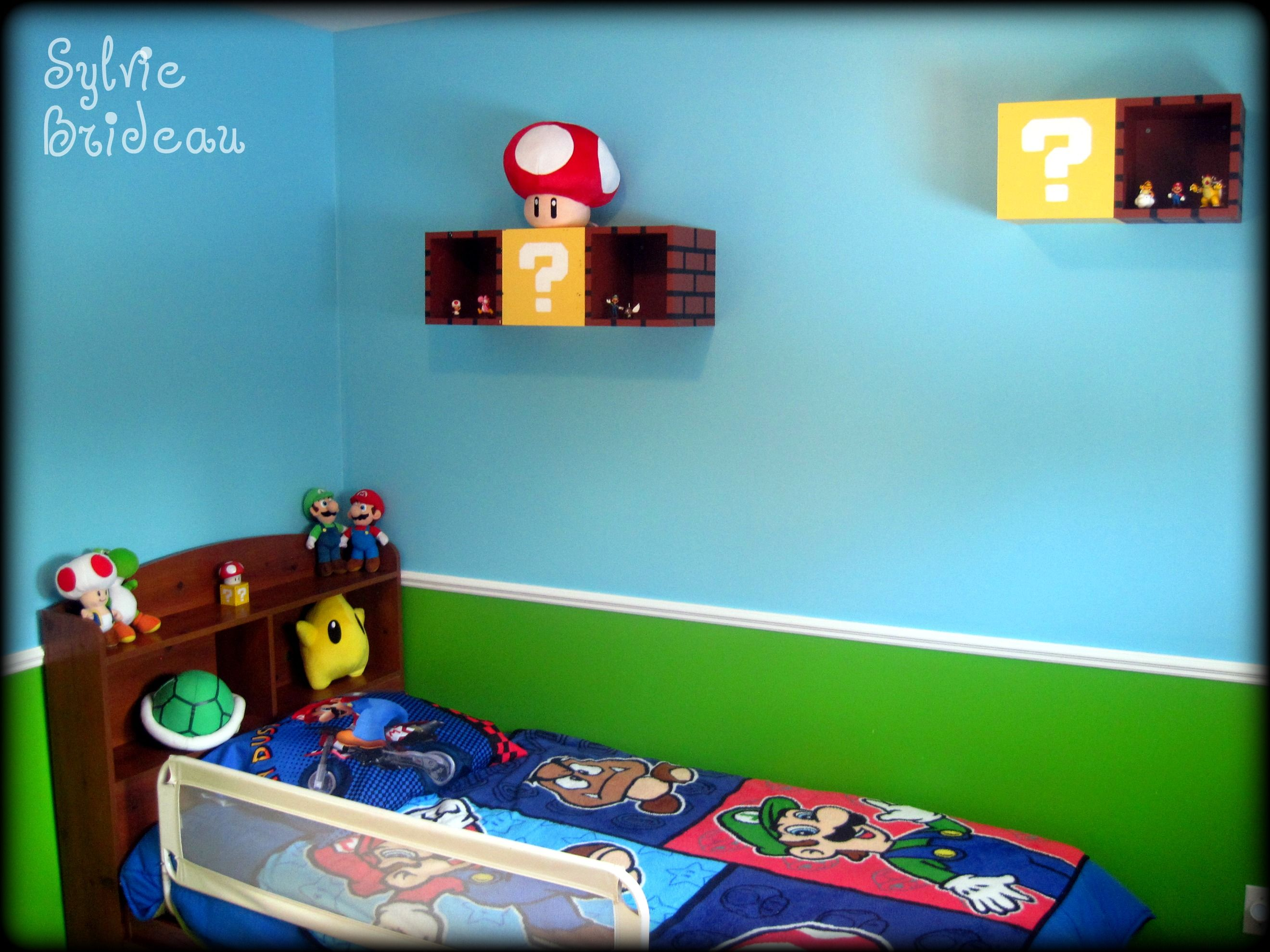 Super Mario Wall Decor, hudson would love this!!!!!!!!! | Room ...