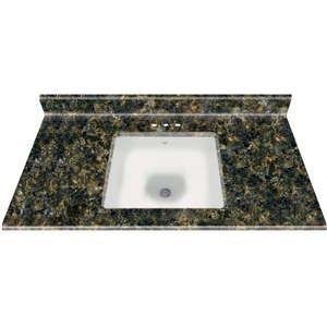 22 x49 square bowl granite vanity top uba tuba 02 home bathroom rh pinterest com