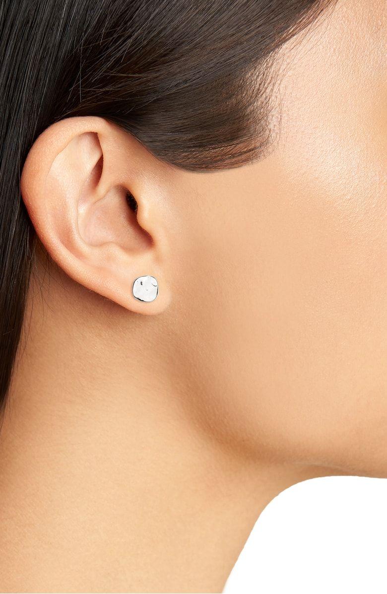 b33bc7e37 Chloe' Small Stud Earrings, Alternate, color, Silver | Beauty ...
