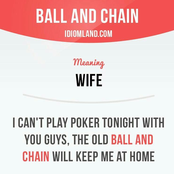 Poker phrases idioms vincere alla roulette forum