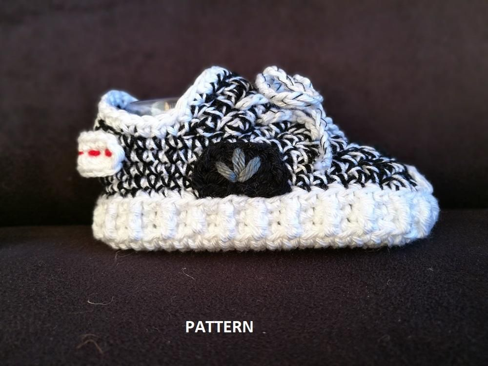0b5eba7c1b59 Instant download This is a pattern for baby crochet Yeezy Boost 350 style.  The price is for the pattern only