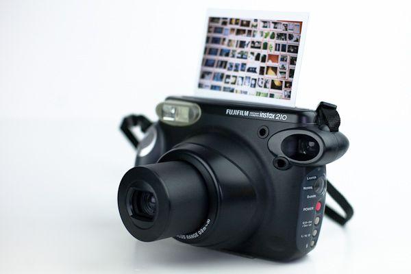 Presenting The Fuji Instax 210 Wide Format Instant Camera