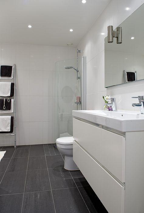 Dark floor and floating cabinet kelsey richards house home also best images decor kitchens interiors rh pinterest