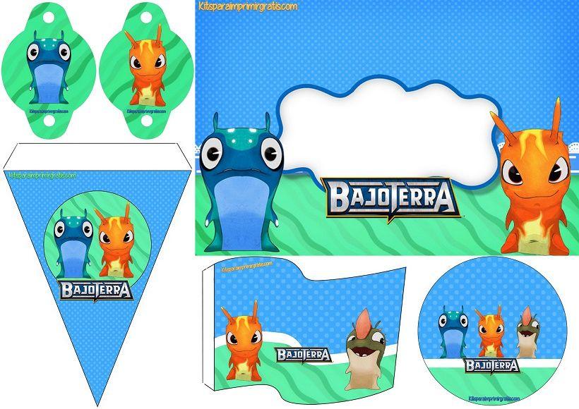 Bajoterra: Mini Kit para Imprimir Gratis  | Bajoterra