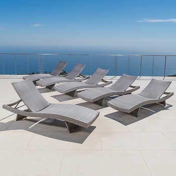 portofino comfort woven wave lounge 6 pack sallie kinser rh pinterest com