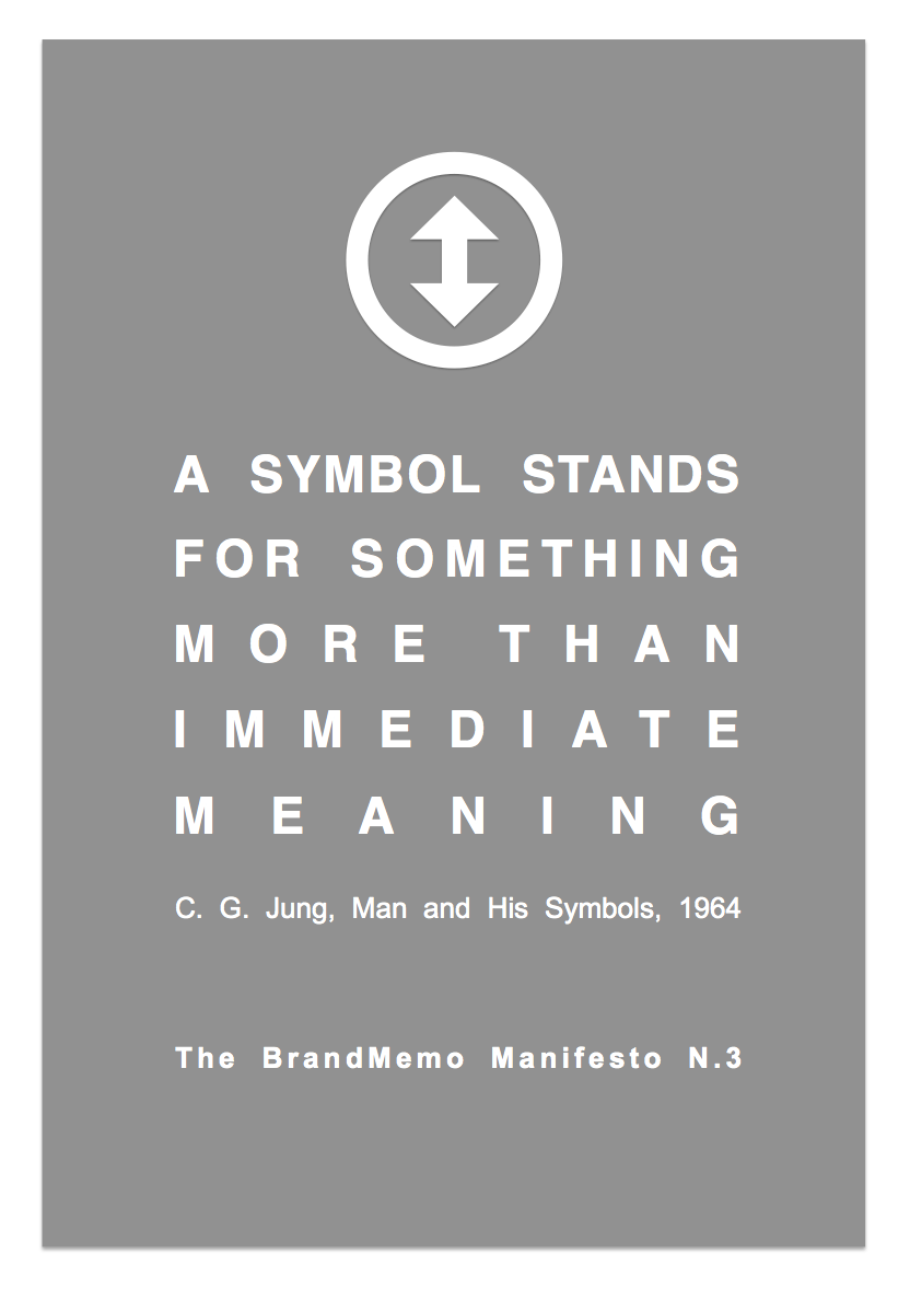 A Symbol Stands For Something More Than Immediate Meaning C G