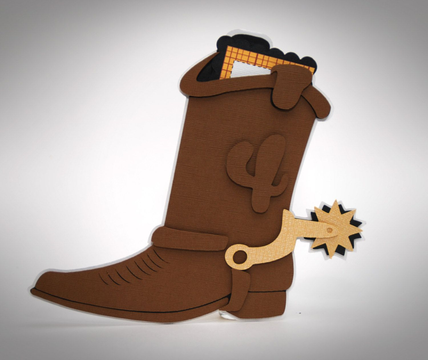 Toystory Boot Invitation by Bloominkards on Etsy, $38.00 ...