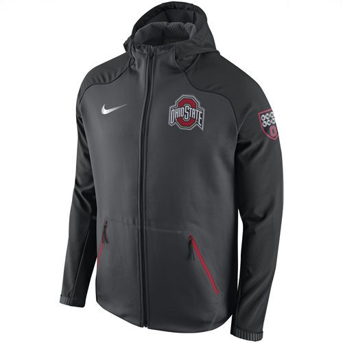 Ohio State Buckeyes Nike Championship Drive Ultimatum Therma Sphere Performance Jacket - Anthracite