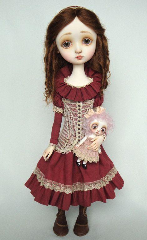 N.... Eloise - original doll by Ana Salvador