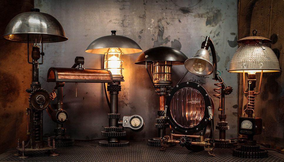 Steampunk Furniture Store | Steampunk Lighting, Steampunk Furniture, Steam  Punk, Steam Punk .