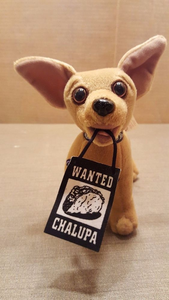 Talking Taco Bell Chihuahua Puppy Dog Wanted Drop The Chalupa
