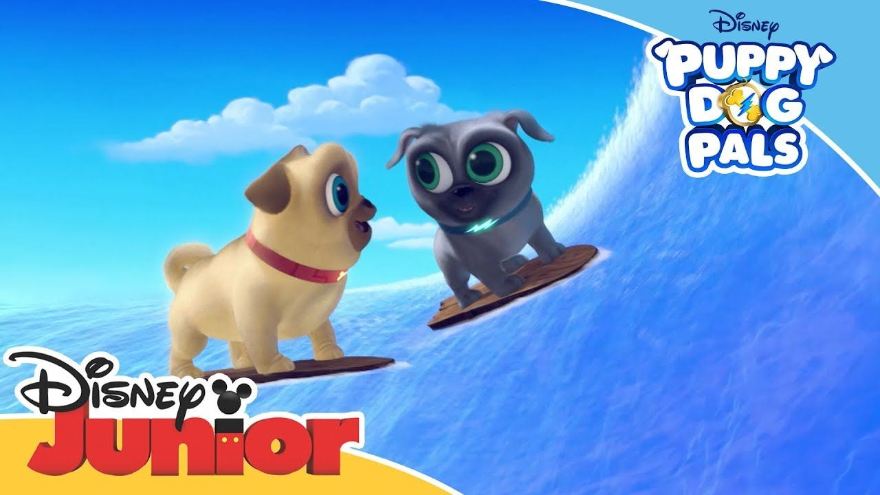 Puppy Dog Pals Magical Moment Hawaii Adventure Official Disney Ch Puppies Cute Pug Puppies Cute Pugs