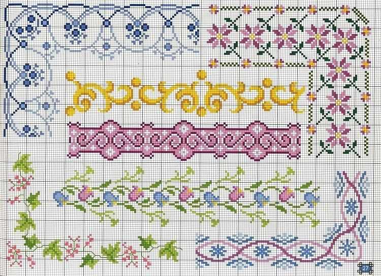 Gallery Ru Foto 26 719 Yra3raza Sewing Crossstitch Borders