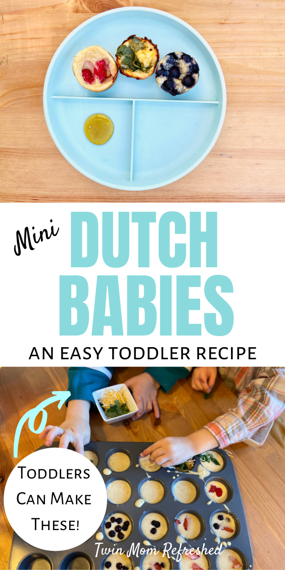 Muffin Tin Dutch Babies   Toddler meals, Easy toddler ...