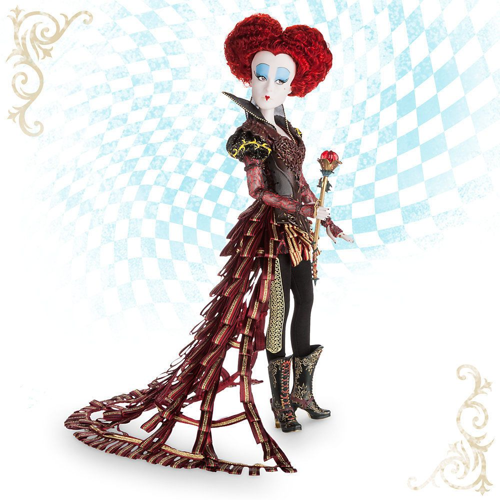 Disney Store Iracebeth The Red Queen Limited Edition Doll