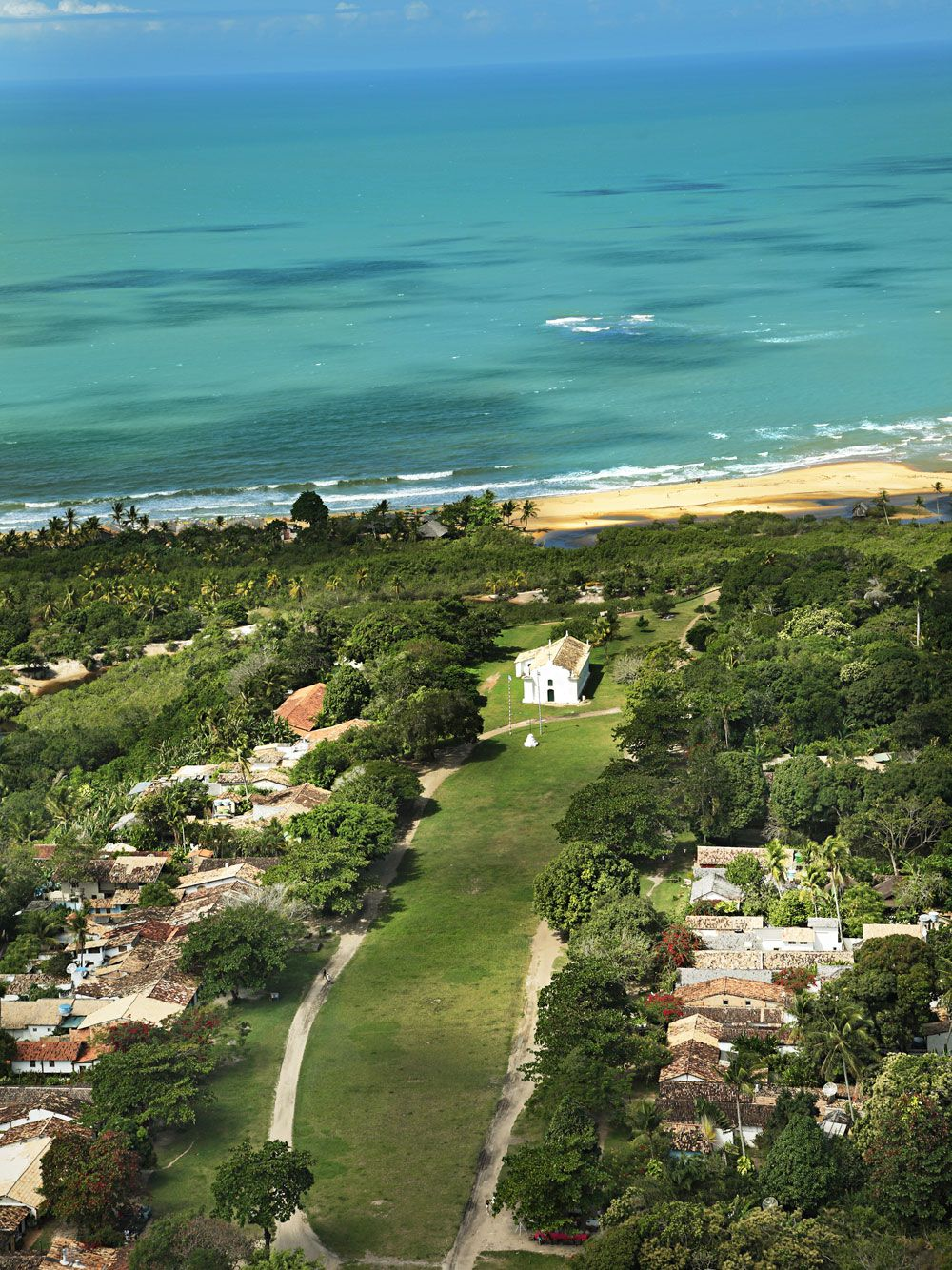 Beach At Casa Uxua Hotel In Trancoso Http Www Thestylejunkies
