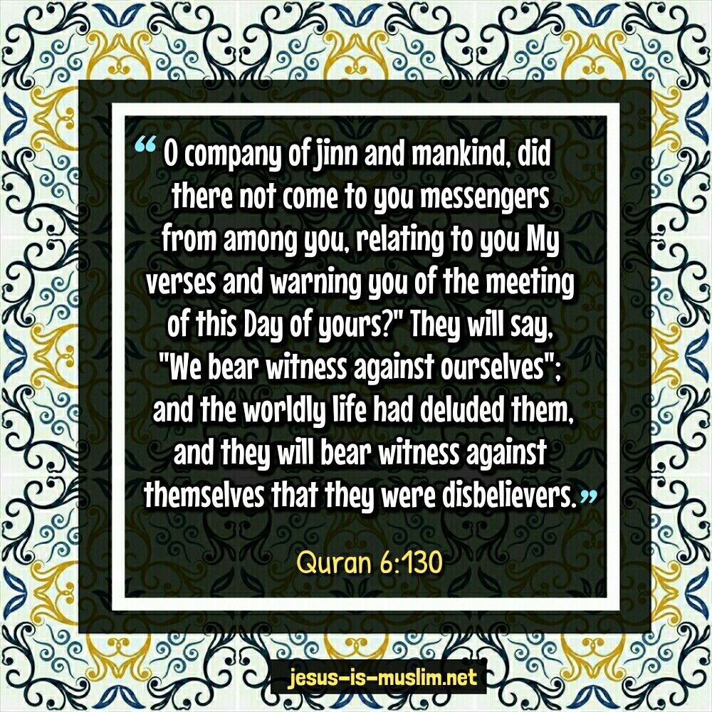 Allah On The Day Of Judgement Will Ask People And Jinn About