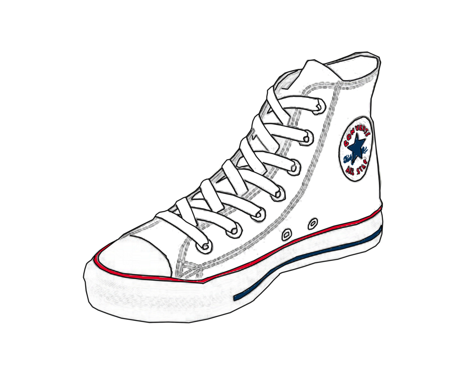 how to draw converse from the front wwwpixsharkcom
