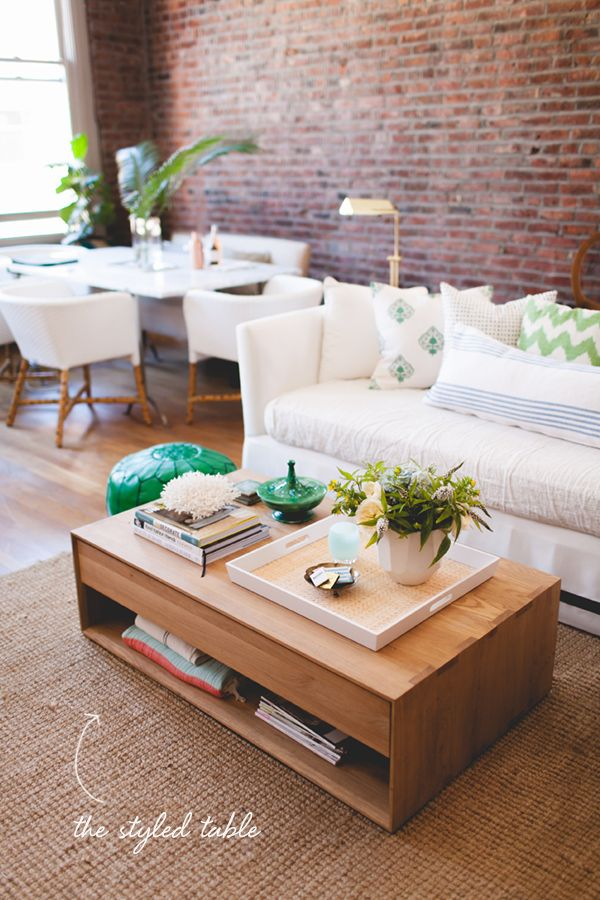 How To :: Style Your Coffee Table