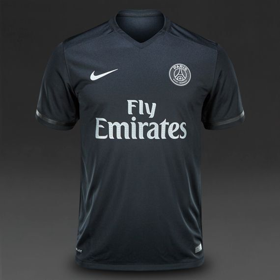 60fe209267 Paris+away+black+2018-2019+Jersey+W+Shorts+Kid+Youth+For+Age+3-13 ...