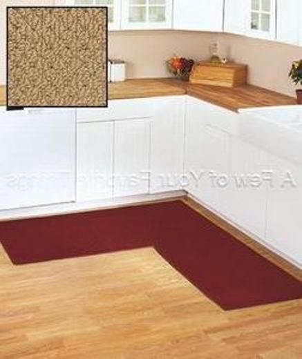 Natural Kitchen Mats Corner L Shaped Kitchen Mats