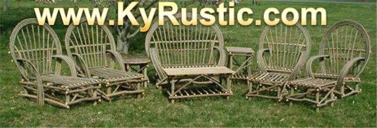 kentucky rustic furniture www kyrustic com kentucky rustic rh pinterest com