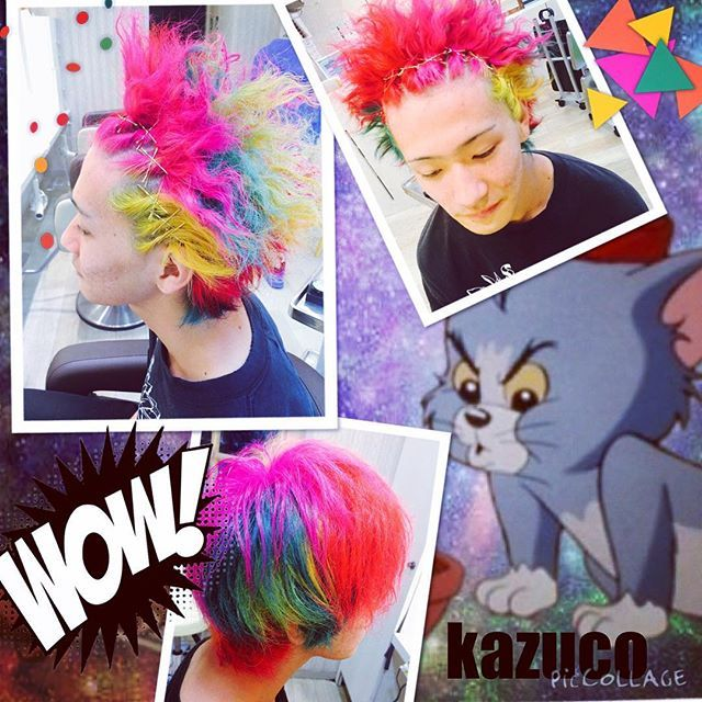 kazuco @kazuco_ men's 体育祭hair...Instagram photo | Websta (Webstagram)