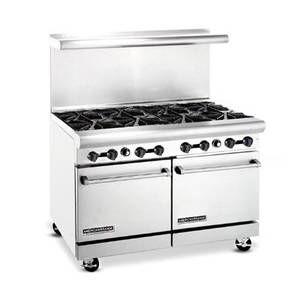 American Range Ar 8 48 Heavy Duty 8 Burner Restaurant Range Compact Kitchen Kitchen Equipment Home Kitchens
