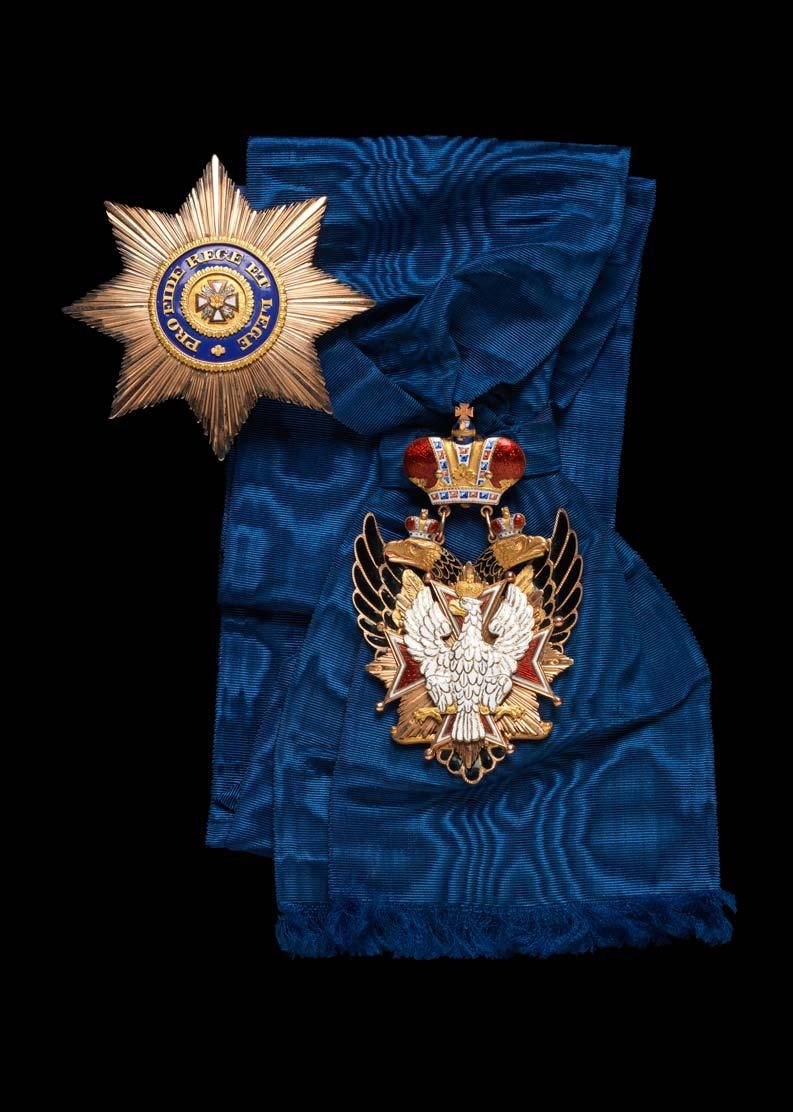 Russian Order of the White Eagle.