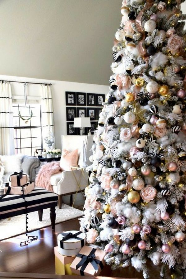 Christmas Living Room Makeover For many people