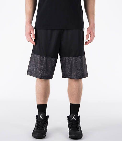 fd32ed24df9 Nike Men s Air Jordan Wings Blockout Basketball Shorts