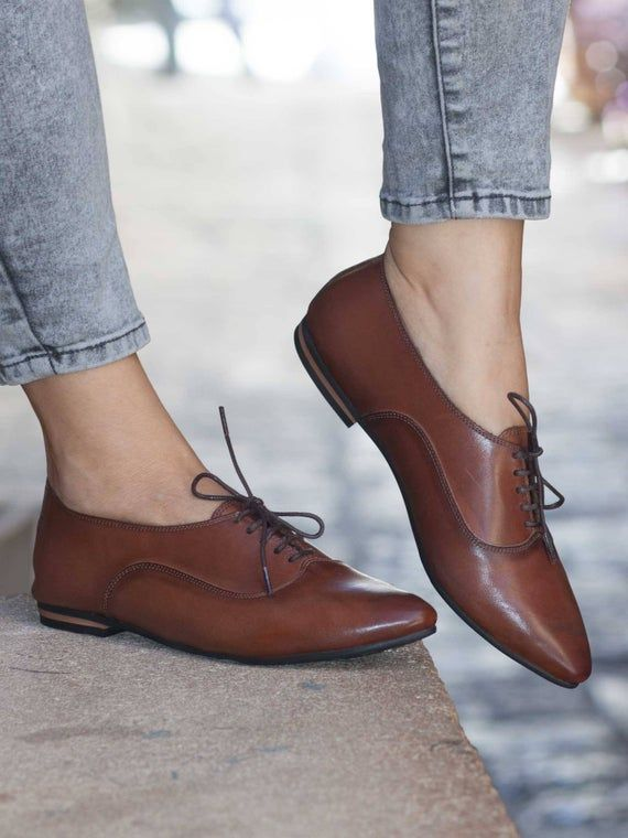 Women Leather Shoes, Leather Oxfords, Oxford Shoes