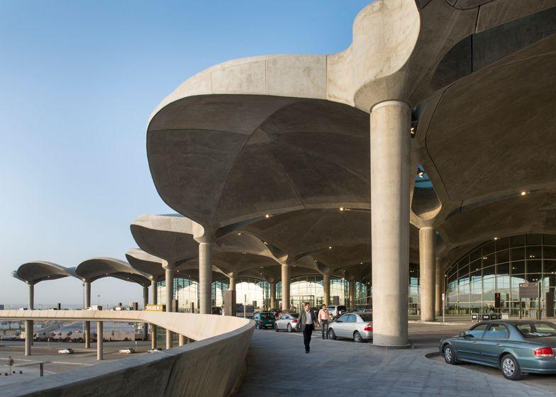 queen alia international airport by foster partners architecture architecture project foster partners pinterest