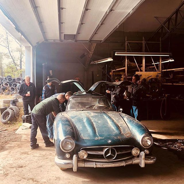 Why, I Love A #Vintage ? Barnfind '55 Mercedes-Benz 300SL