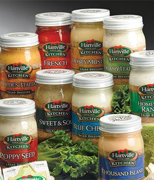 15 Oz Salad Dressing Jars Hartville Kitchen Hartville
