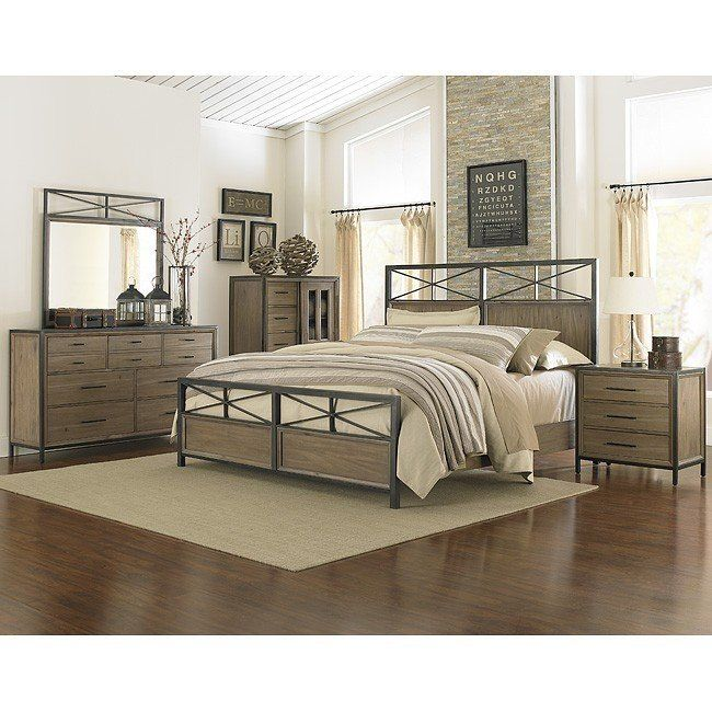 shady grove panel bedroom set in 2019 furniture wood bedroom rh pinterest com