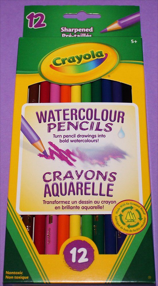 Crayola Watercolour Pencils Wreck This Journal Pencil Watercolor