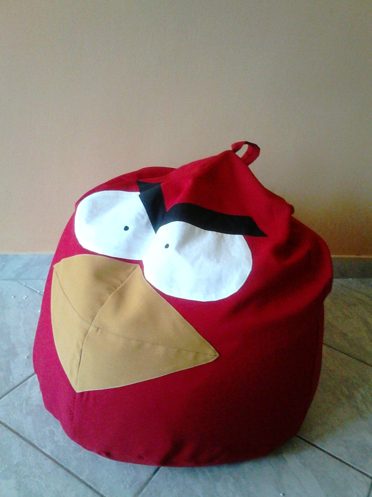 Bean Bags Red Birds  Babzs Kfotel