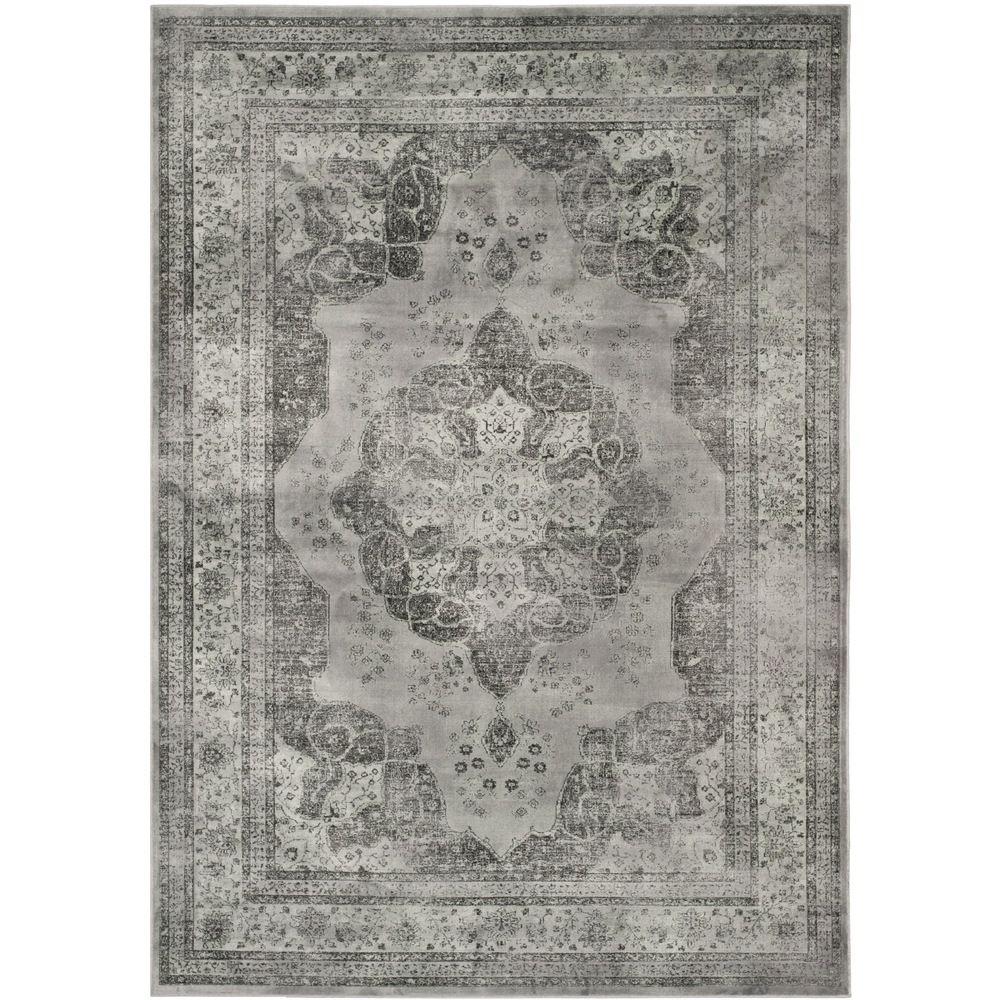 Safavieh Vintage Grey Viscose Rug (5'3 x 7'6) - Overstock™ Shopping - Great Deals on Safavieh 5x8 - 6x9 Rugs