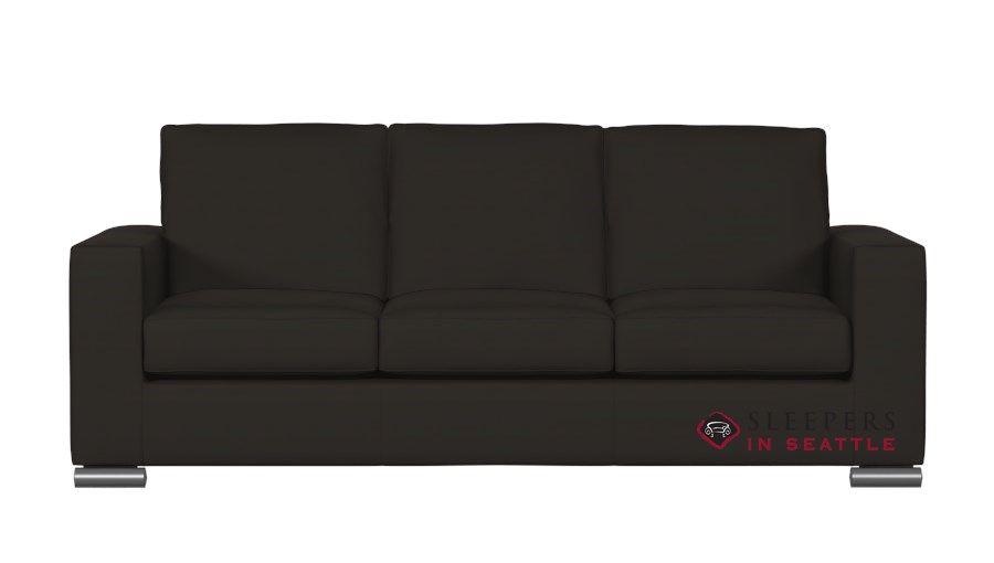 natuzzi editions rubicon b534 leather queen sleeper sofa with rh pinterest com