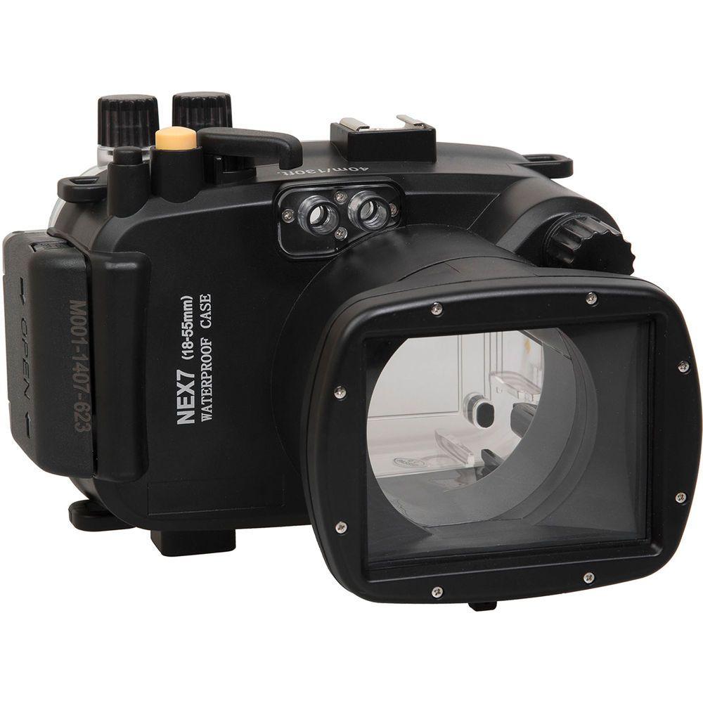 Polaroid Underwater Housing For Sony Alpha Nex 7 And 18 55mm F 3 5 5 6 Lens Best Underwater Camera Camera Scuba Diving Camera