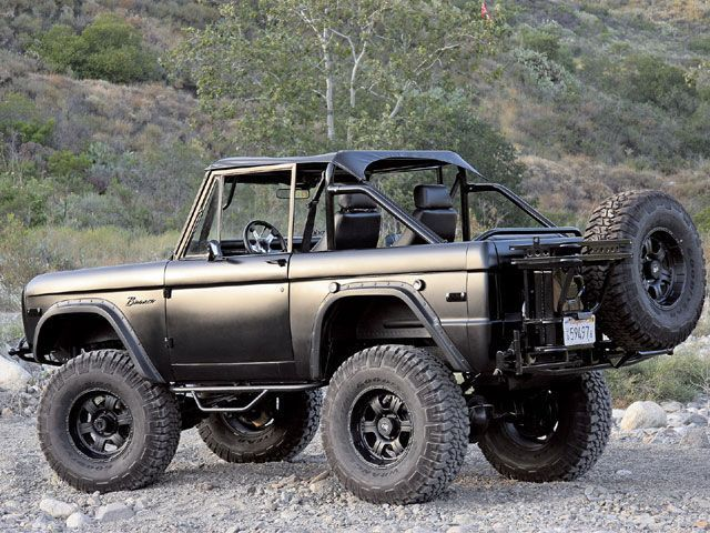 Cool Except For The Rattle Can Paint Job Ford Bronco Trucks Bronco